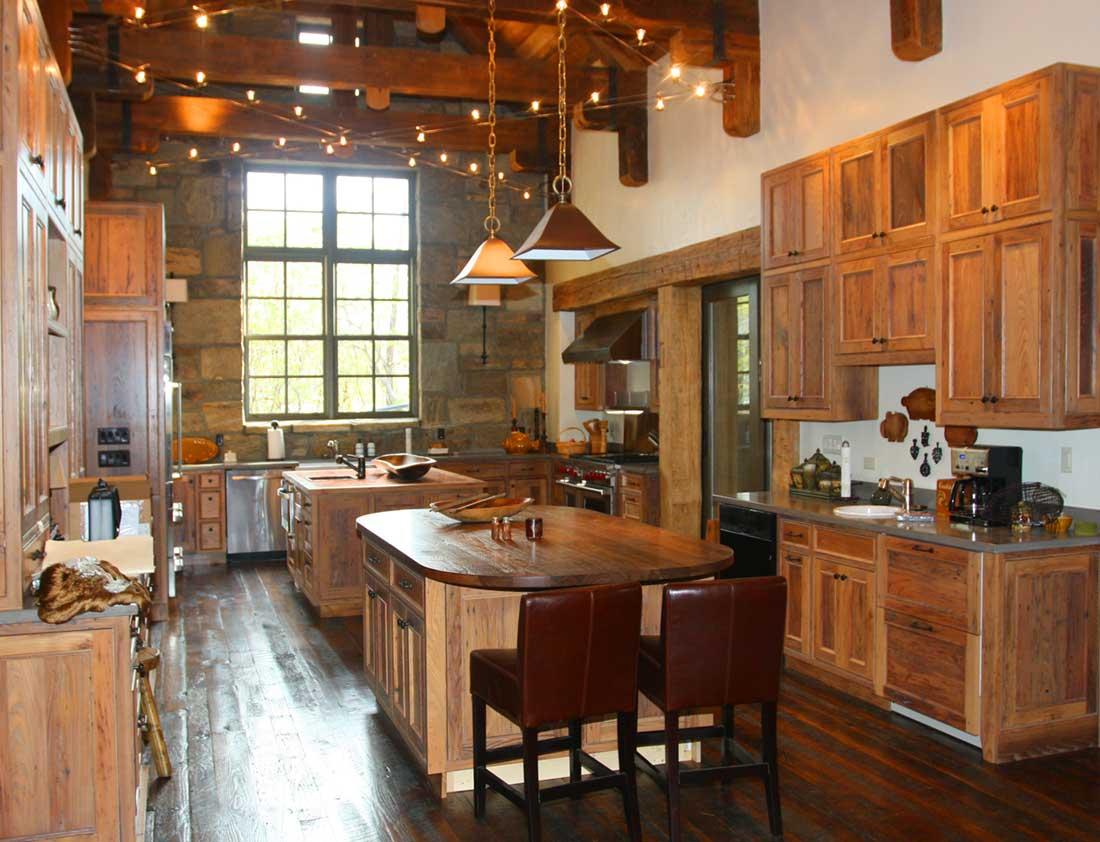 Lake Toxaway kitchen